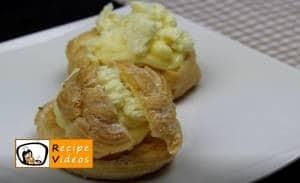 Cream Puff Swans recipe, prepping Cream Puff Swans step 11