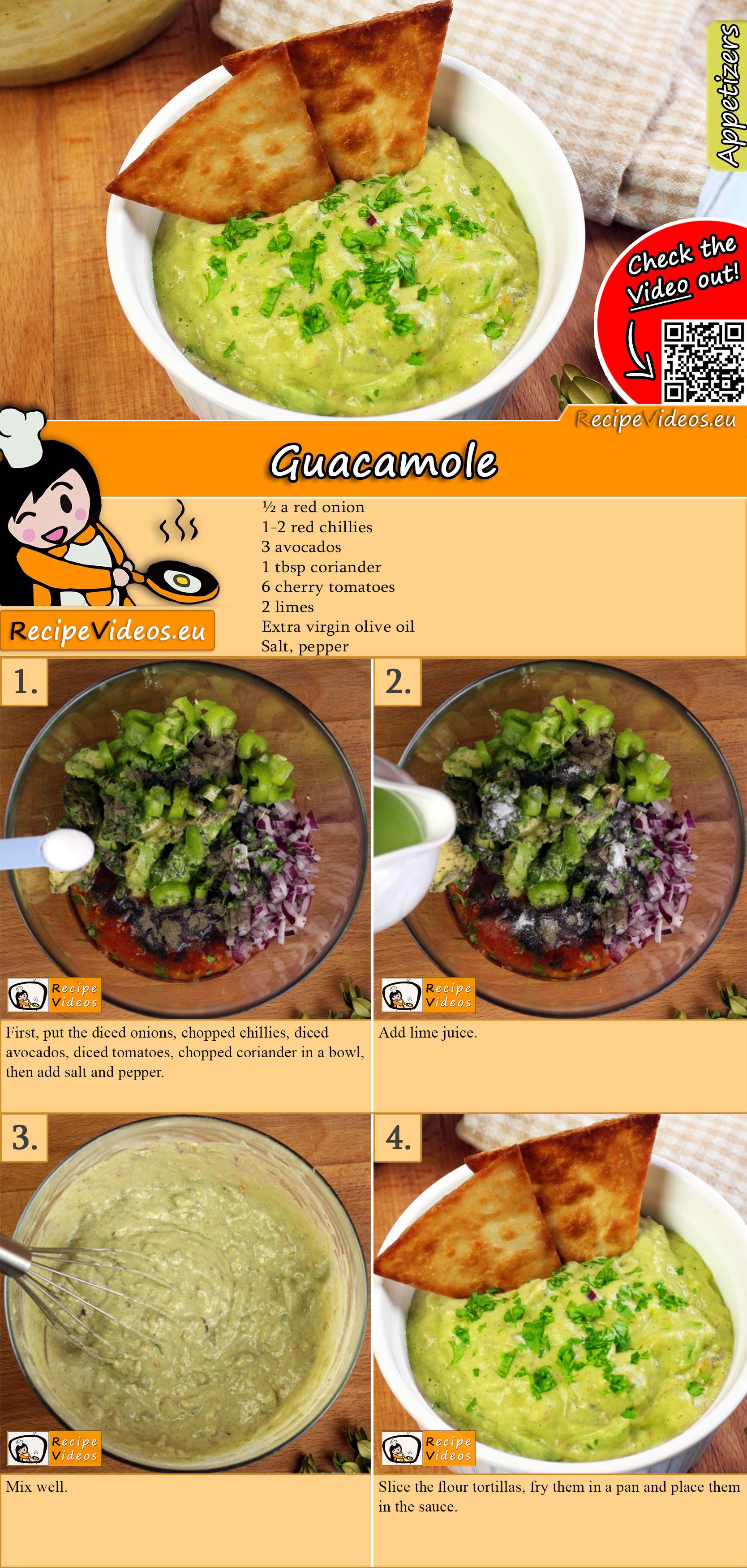 Guacamole recipe with video