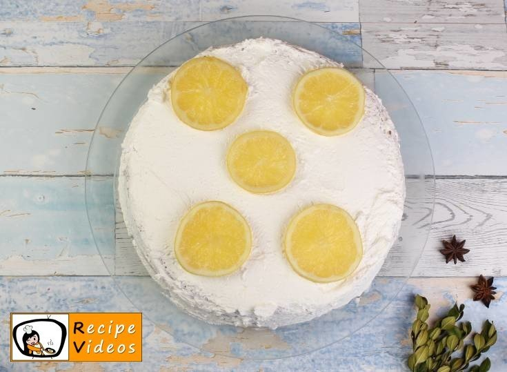 Lemon Cake recipe, prepping Lemon Cake step 8