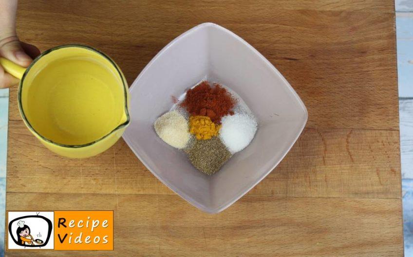 Vegetable Tofu recipe, prepping Vegetable Tofu step 1