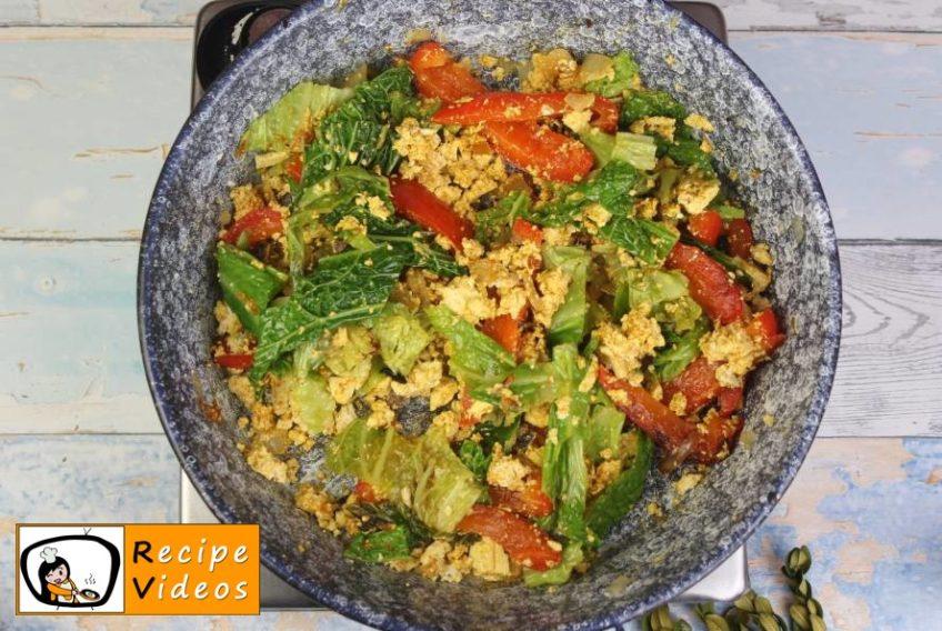 Vegetable Tofu recipe, prepping Vegetable Tofu step 6