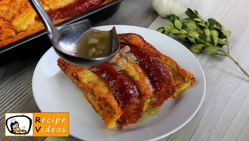 Toad-In-The-Hole recipe, how to make Toad-In-The-Hole step 6