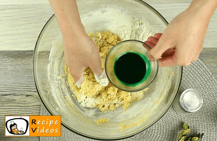 Grinch Cookies recipe, prepping Grinch Cookies step 4