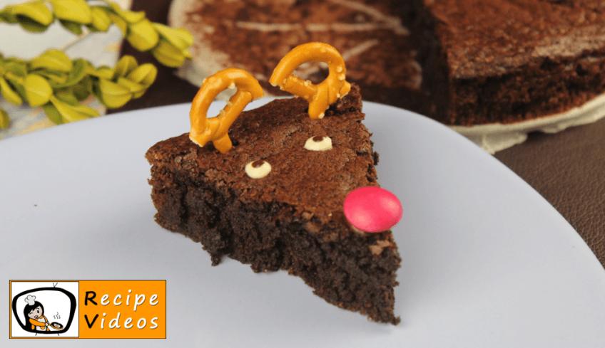Reindeer Brownies recipe, prepping Reindeer Brownies step 8